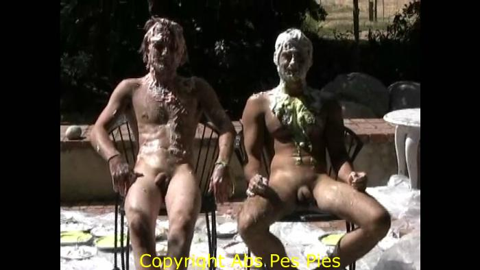 naked girls get pied slimed